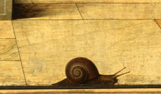Francesco Del Cossa, Annonciation (détail)