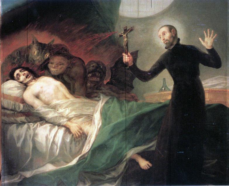 GOYA, St François Borgia et le Moribond